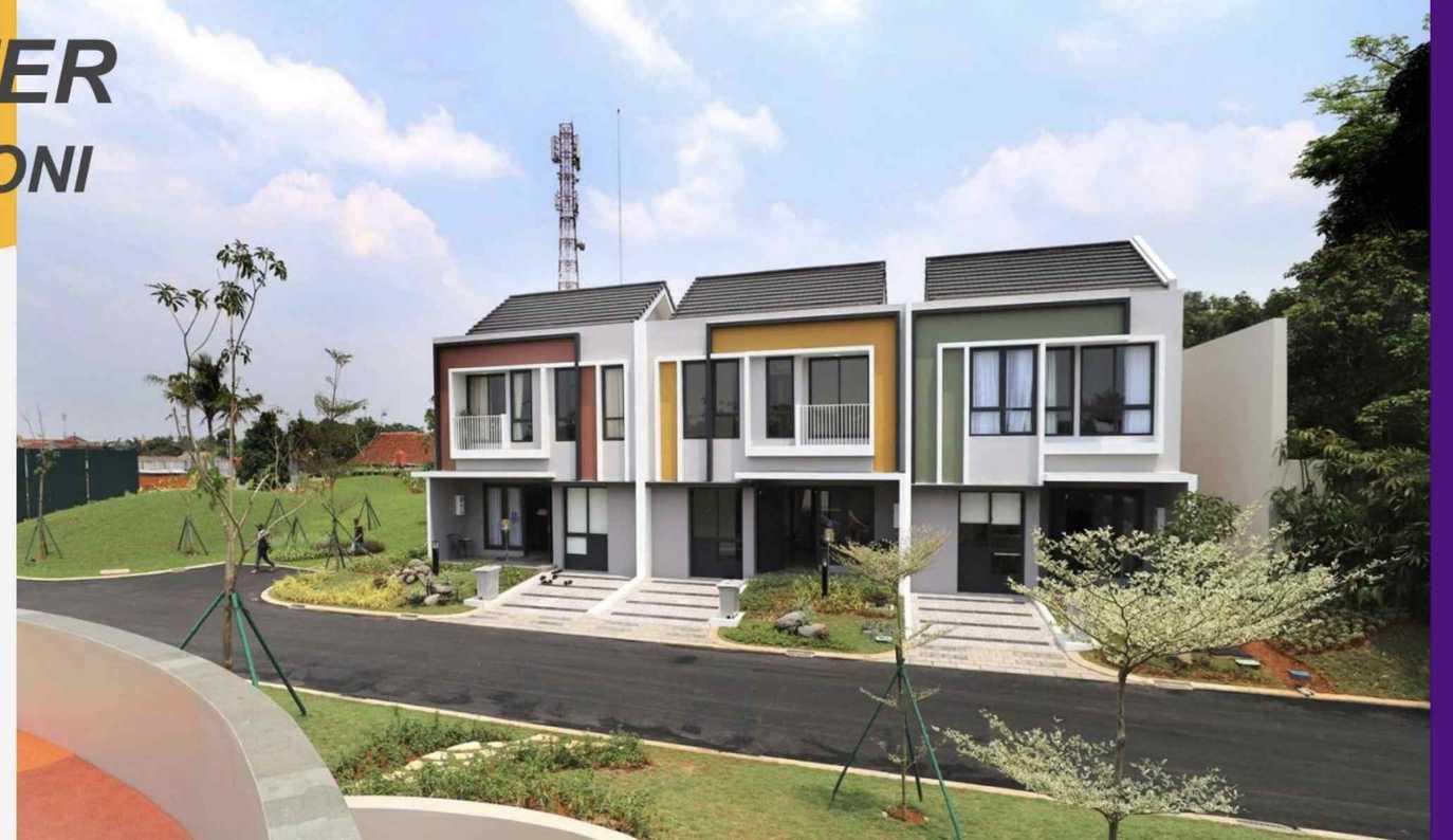 Rumah Baru Cluster Baroni Sumarecon Serpong: di jual Rumah di Jl. Allogio, Medang, Kec. Pagedangan 15134, KABUPATEN TANGERANG, BANTEN