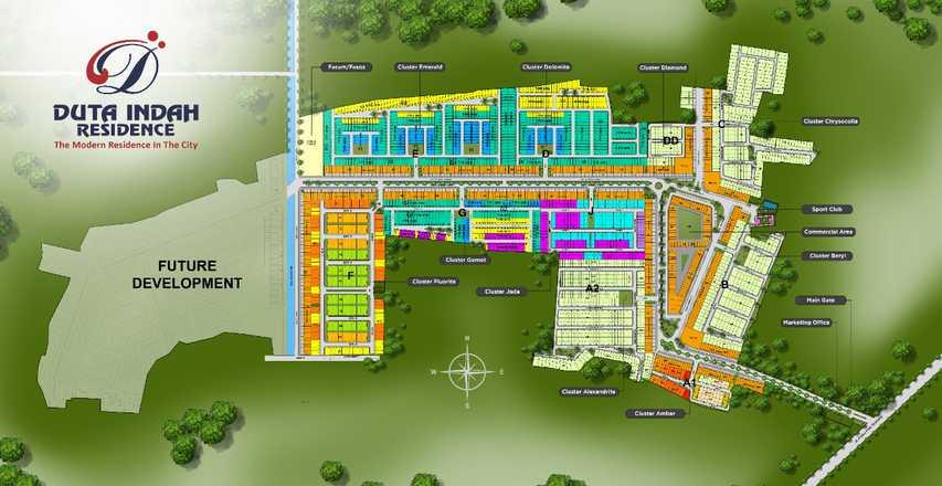 Cluster Alexandrite: di jual Rumah di Duta Indah Residence, KOTA TANGERANG, BANTEN