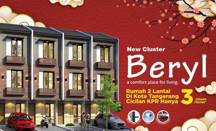 New Cluster BERYL: di jual Rumah di Duta Indah Residence, KOTA TANGERANG, BANTEN
